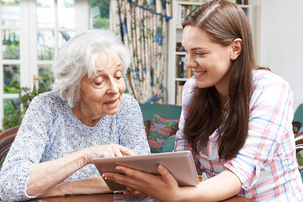Ehrenamt digital Hilfe für Senioren